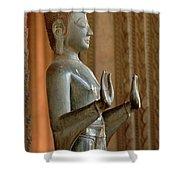 Buddha Vientienne Laos Shower Curtain