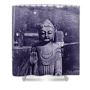Buddhas Words Shower Curtain