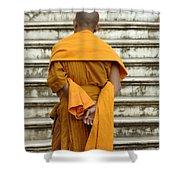 Buddhist Monk 2 Shower Curtain