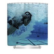 Buds Students Participate In Underwater Shower Curtain