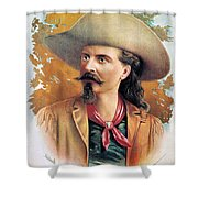 Buffalo Bill Cody, C1888 Shower Curtain