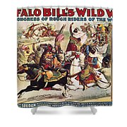 Buffalo Bill: Poster, 1899 Shower Curtain
