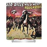 Buffalo Bills Show Shower Curtain