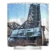 Buffalo Bridges 10624c Shower Curtain