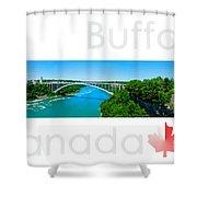 Buffalo Canada Shower Curtain