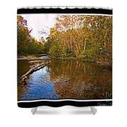 Buffalo Creek Shower Curtain
