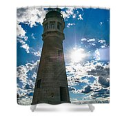 Buffalo Lighthouse 15717c Shower Curtain