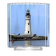 Buffalo Main Lighthouse Shower Curtain