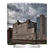Buffalo Mills - The Backside Shower Curtain