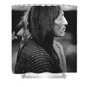 Buffalo Nickel Portait. Shower Curtain