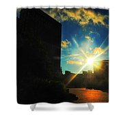 Buffalo Ny Awakening  Shower Curtain