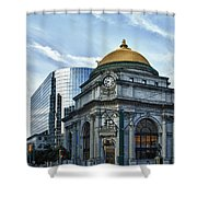 Buffalo Savings Bank 11415 Shower Curtain