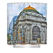 Buffalo Savings Bank  Goldome  M And T Bank Branch Shower Curtain