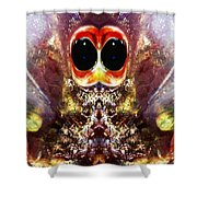 Bug Eyes Shower Curtain by Skip Nall