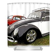 Bug Show Shower Curtain