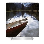 Bugaboos Provincial Park Shower Curtain