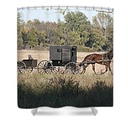 Buggy And Wagon Shower Curtain