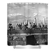 Buglers On Governors Island Shower Curtain