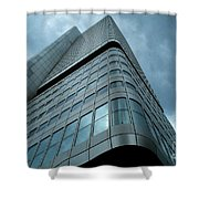 Building And Sky Shower Curtain