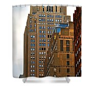 Buildings From The Taxi Shower Curtain