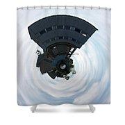 Built Up Shower Curtain