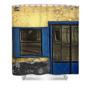 Bulevar Revolucije 358. Belgrade. Serbia Shower Curtain