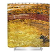 Bull-fights Shower Curtain