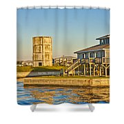 Bumblebee Tower 2 Shower Curtain