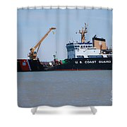 Buoy Changing Shower Curtain