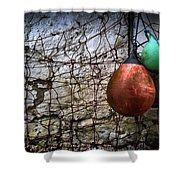 Buoys Shower Curtain