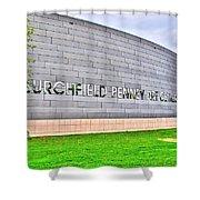 Burchfield Penny Art Center Shower Curtain