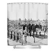 Burial Of Ulysses S. Grant Shower Curtain