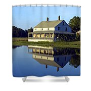 Burnham House Shower Curtain