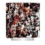Burning Issues Shower Curtain