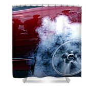 Burnout Shower Curtain