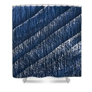Burnt Trees On Mountain Slope Shower Curtain by Mike Grandmailson