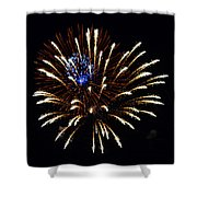 Bursting Out With Color Shower Curtain by Sandi OReilly