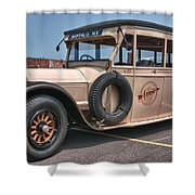 Bus No. 19 Shower Curtain