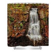 Bushkill Main Falls Shower Curtain