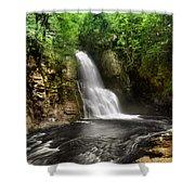 Bushkill Waterfalls Shower Curtain
