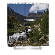 Butte At Lunch Creek  Shower Curtain