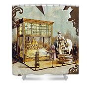 Butter Trade Card, C1880 Shower Curtain by Granger