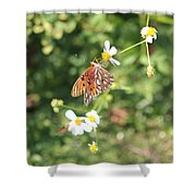 Butterfly 46 Shower Curtain