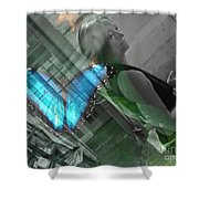 Butterfly Effect Shower Curtain