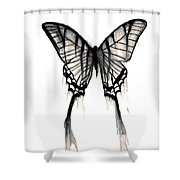 Butterfly Tears 2 Shower Curtain