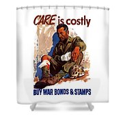 Buy War Bonds And Stamps Shower Curtain
