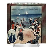 By The Beautiful Sea, 1914 Shower Curtain