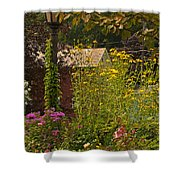 By The Light Of The Garden Shower Curtain