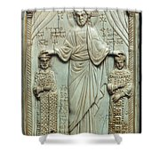 Byzantine Art Shower Curtain