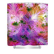 Cabbage Moon Shower Curtain